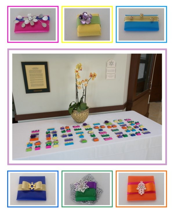 Specialty Party Favors are highlighted at Bat Mitzvah Party