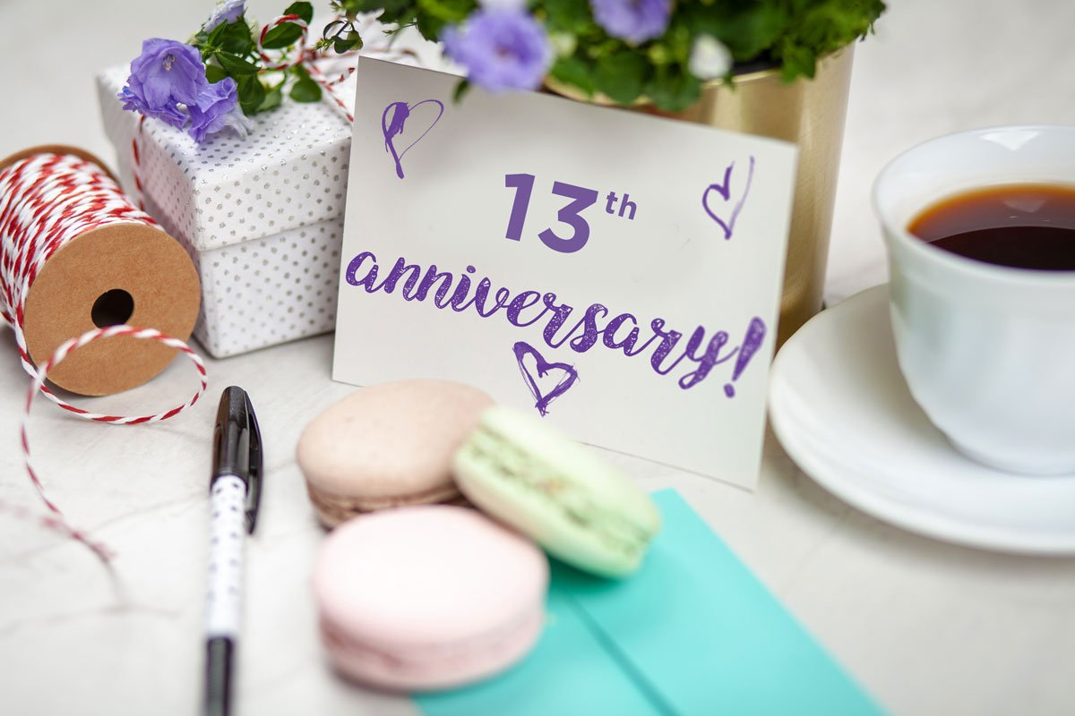 SoBelle Favors proudly celebrates its 13 Year Anniversary!
