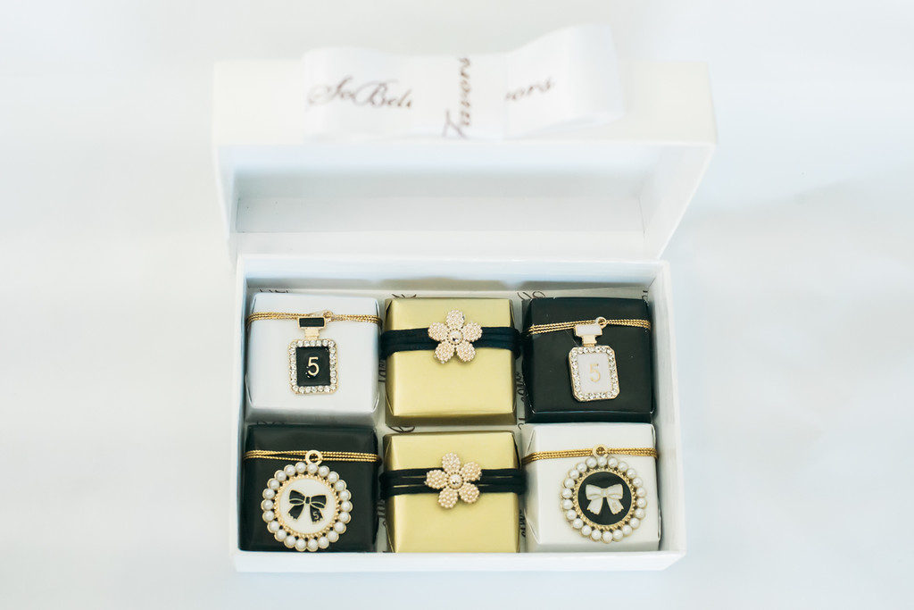 Chanel Themed Chocolate Favors