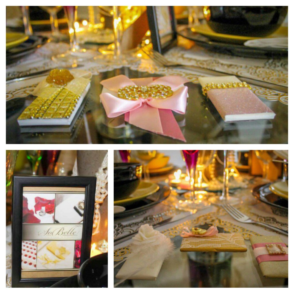 Exquisite Displays Featuring SoBelle Favors at the UK Wedding Affair Design Show