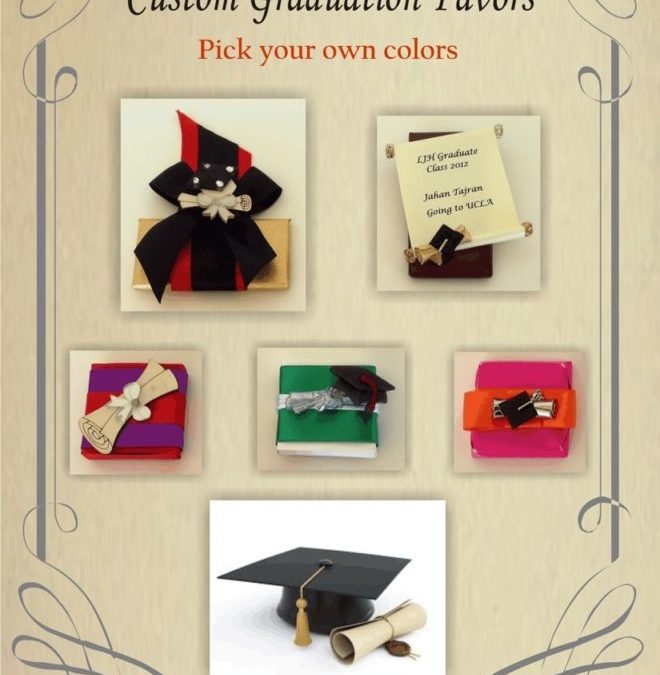 Customized Graduation Party Favors